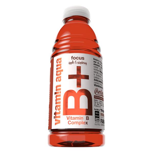 Merlin's Beverages - Vitamin Aqua B+ Apple & Raspberry 0,6 L