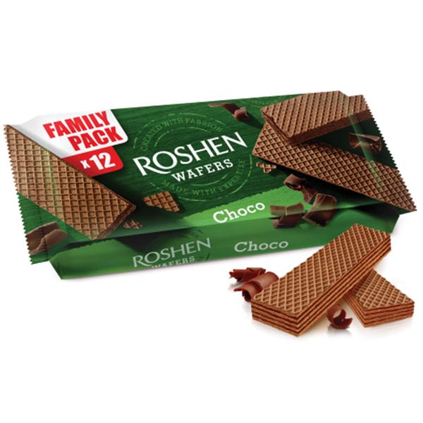 Roshen - Napolitane cacao 216 gr.