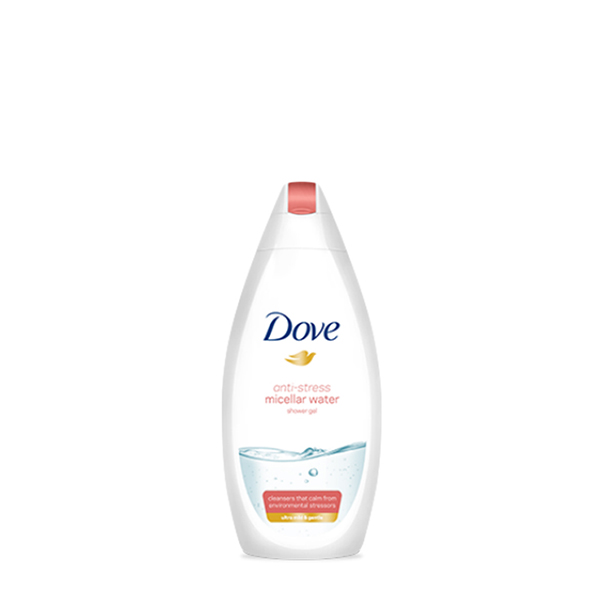 Dove - Gel de duș anti-stress Micellar Water 250 ml.