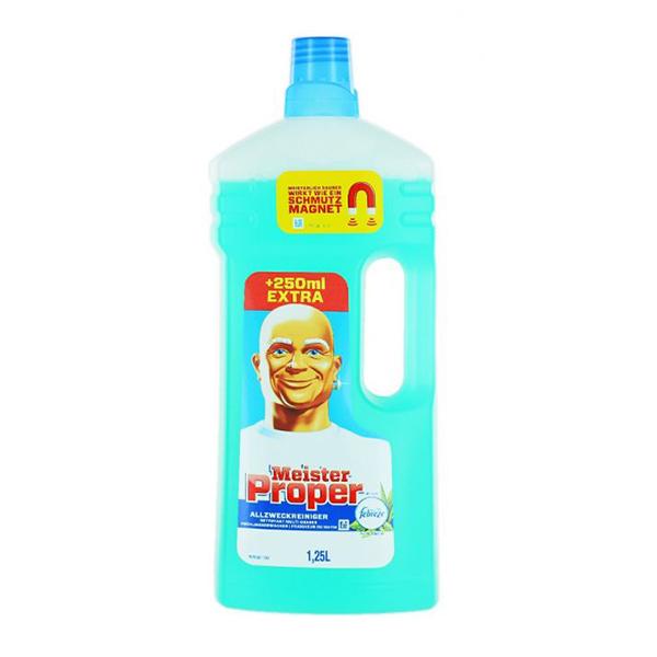 Mr. Proper - Detergent universal pentru suprafețe Febreze 1,25 L.