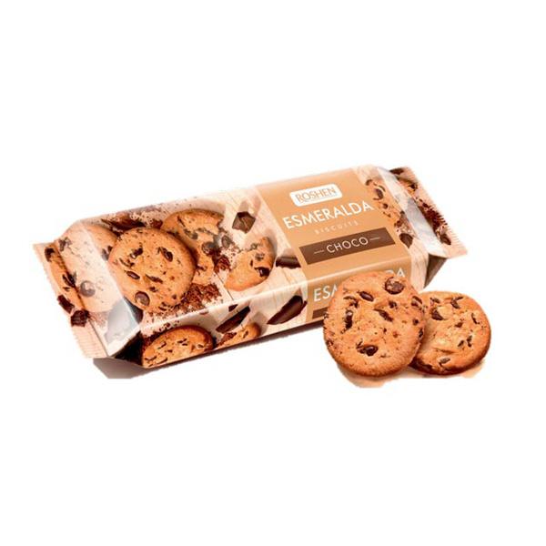 Roshen - Biscuiți Esmeralda Choco 150 gr.
