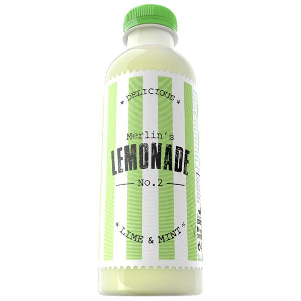 Merlin's Beverages - Lemonade NO.2 Lime & Mint 0,6 L