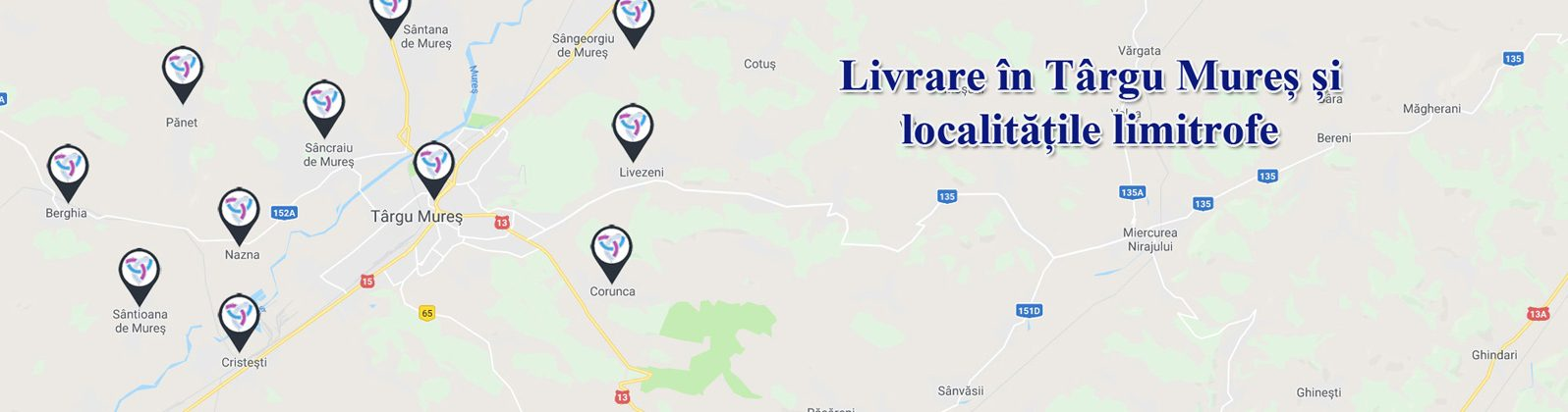 Livrare in Tg. Mures